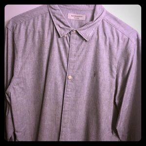 ALL SAINTS Long Sleeve Shirt
